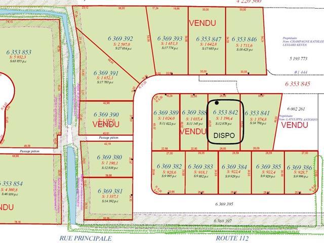 Terrain à vendre à Saint-Frédéric, Chaudière-Appalaches, Rue  Lehoux, 16316697 - Centris.ca