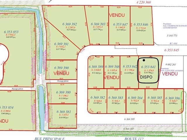 Terrain à vendre à Saint-Frédéric, Chaudière-Appalaches, Rue  Lehoux, 12840329 - Centris.ca