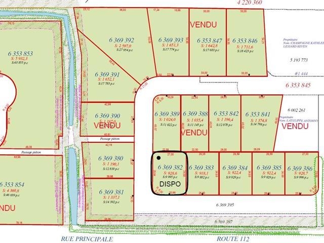 Terrain à vendre à Saint-Frédéric, Chaudière-Appalaches, Rue  Lehoux, 26059258 - Centris.ca