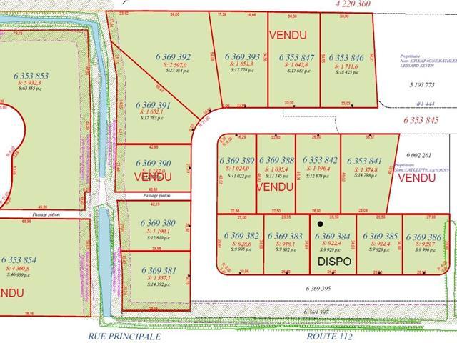 Terrain à vendre à Saint-Frédéric, Chaudière-Appalaches, Rue  Lehoux, 28752483 - Centris.ca