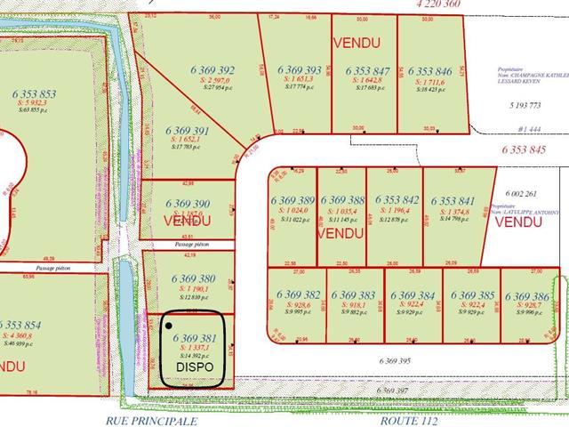 Terrain à vendre à Saint-Frédéric, Chaudière-Appalaches, Rue  Lehoux, 23319604 - Centris.ca