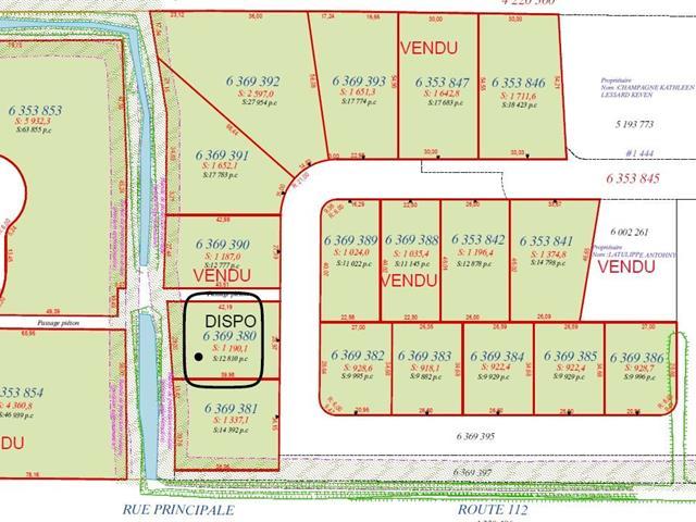 Terrain à vendre à Saint-Frédéric, Chaudière-Appalaches, Rue  Lehoux, 17084441 - Centris.ca