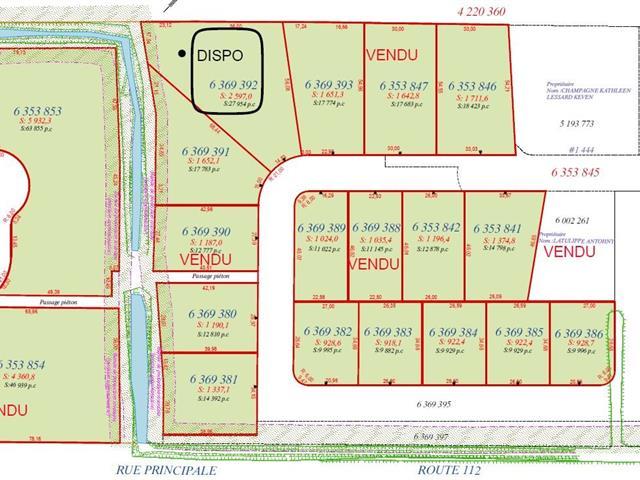 Lot for sale in Saint-Frédéric, Chaudière-Appalaches, Rue  Lehoux, 16460935 - Centris.ca