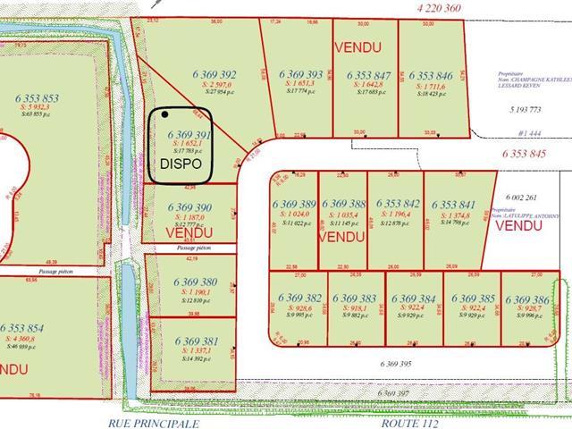 Terrain à vendre à Saint-Frédéric, Chaudière-Appalaches, Rue  Lehoux, 25495762 - Centris.ca