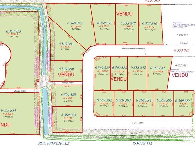 Terrain à vendre à Saint-Frédéric, Chaudière-Appalaches, Rue  Lehoux, 22397650 - Centris.ca