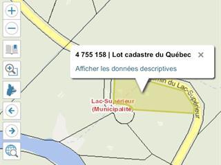Terrain à vendre à Lac-Supérieur, Laurentides, Chemin du Lac-Supérieur, 28113916 - Centris.ca