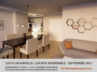 Condo / Apartment for rent in Montréal (Ahuntsic-Cartierville), Montréal (Island), 12014, Rue  Lachapelle, apt. B, 17534697 - Centris.ca