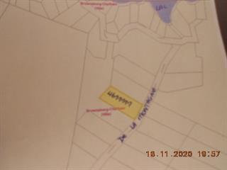 Terrain à vendre à Brownsburg-Chatham, Laurentides, Chemin de la Montagne, 18425058 - Centris.ca