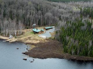 Chalet à vendre à Lac-Ashuapmushuan, Saguenay/Lac-Saint-Jean, Lac du Mâle, 26435476 - Centris.ca