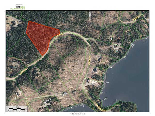 Terrain à vendre à Ivry-sur-le-Lac, Laurentides, Chemin du Plateau, 23642570 - Centris.ca