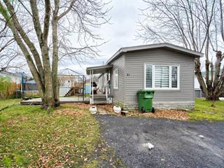 Maison mobile à vendre à Saint-Jean-sur-Richelieu, Montérégie, 21, Rue  Francine, 23137609 - Centris.ca