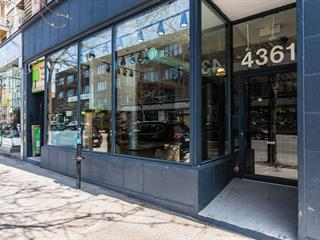 Commercial unit for rent in Montréal (Le Plateau-Mont-Royal), Montréal (Island), 4361, Rue  Saint-Denis, 13653480 - Centris.ca