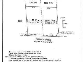 Lot for sale in Sutton, Montérégie, Chemin  Dyer, 9054771 - Centris.ca