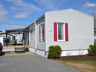 Mobile home for sale in Château-Richer, Capitale-Nationale, 22, Rue  Gagné, 25222178 - Centris.ca