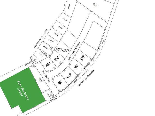 Lot for sale in Courcelles, Estrie, 107, Avenue des Chênes, 14181800 - Centris.ca