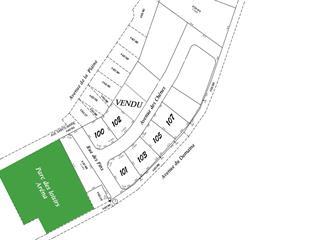 Terrain à vendre à Courcelles, Estrie, 100, Avenue des Chênes, 15082388 - Centris.ca