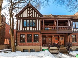 Condo à vendre à Montréal (Côte-des-Neiges/Notre-Dame-de-Grâce), Montréal (Île), 4540, Avenue  Marcil, 12989125 - Centris.ca
