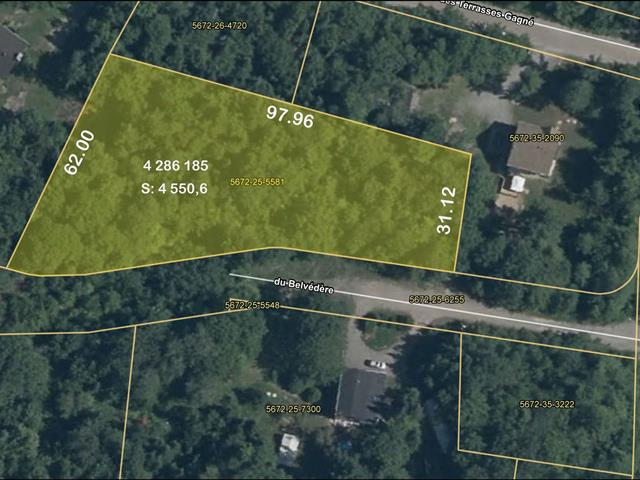 Lot for sale in Mille-Isles, Laurentides, Chemin du Belvédère, 14839617 - Centris.ca