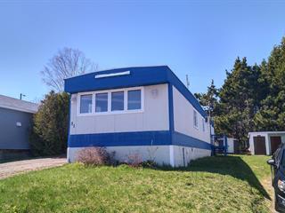 Maison mobile à vendre à Rimouski, Bas-Saint-Laurent, 51, Rue des Nomades, 24043843 - Centris.ca