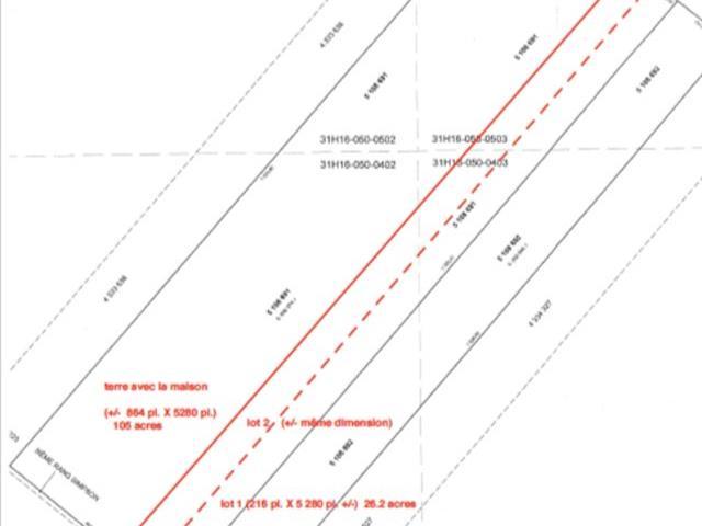 Terrain à vendre à Saint-Cyrille-de-Wendover, Centre-du-Québec, 3e rg de Simpson, 25700762 - Centris.ca