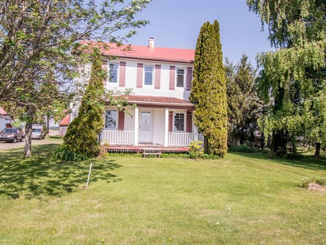 Fermette à vendre à Saint-Robert, Montérégie, 113, Rang  Saint-Thomas, 26122547 - Centris.ca