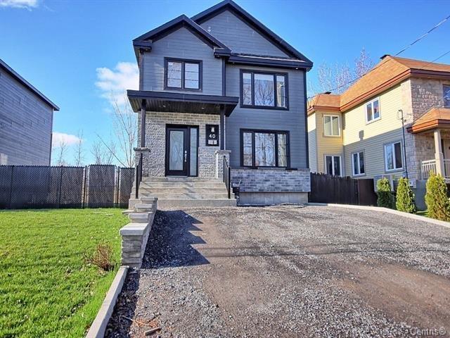 House for sale in Châteauguay, Montérégie, 40, Rue  Jack, 25324700 - Centris.ca