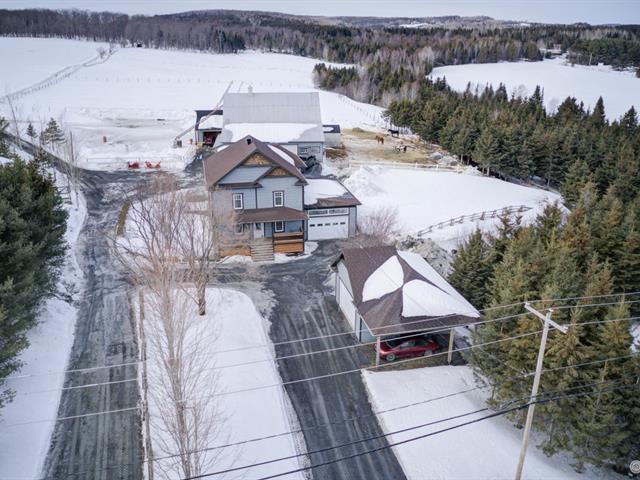 Fermette à vendre à Saint-Benoît-Labre, Chaudière-Appalaches, 317Z, Route  271, 14651138 - Centris.ca