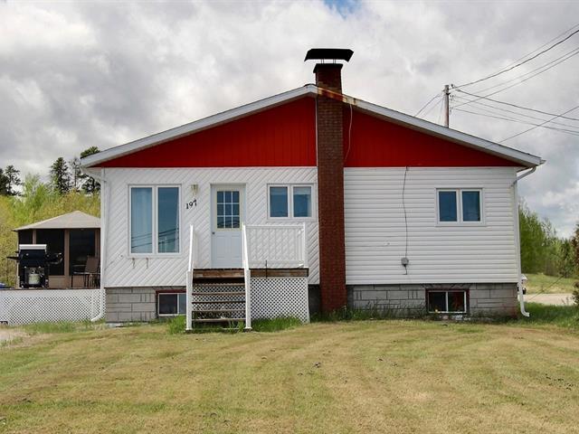 House for sale in La Sarre, Abitibi-Témiscamingue, 197, Route  393 Sud, 17785595 - Centris.ca