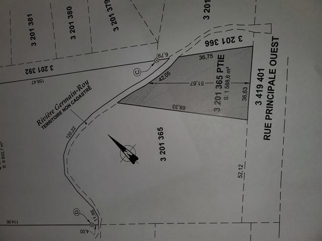Terrain à vendre à Saint-Anaclet-de-Lessard, Bas-Saint-Laurent, Rue  Principale Ouest, 10329120 - Centris.ca