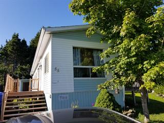 Mobile home for sale in Rimouski, Bas-Saint-Laurent, 55, Rue des Nomades, 14495578 - Centris.ca