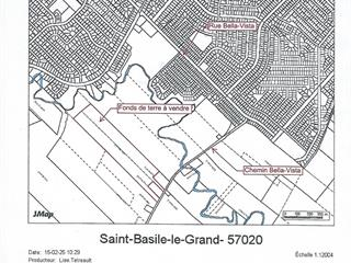 Land for sale in Saint-Basile-le-Grand, Montérégie, 383, Chemin  Bella-Vista, 17924409 - Centris.ca