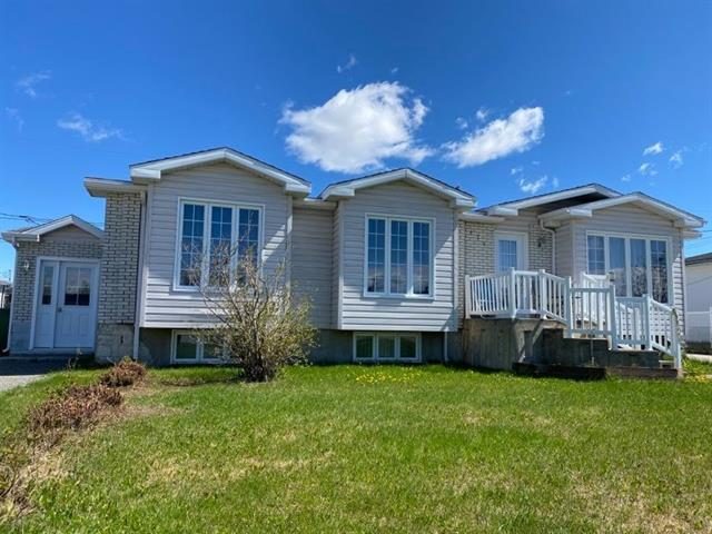 Maison à vendre à Chapais, Nord-du-Québec, 171 - 171B, boulevard  Springer, 27840808 - Centris.ca