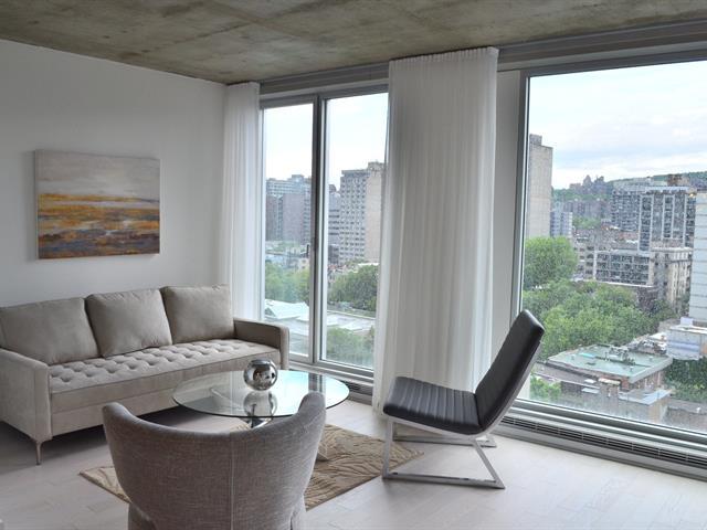 Condo / Apartment for rent in Montréal (Ville-Marie), Montréal (Island), 1800, boulevard  René-Lévesque Ouest, apt. 1204, 21469605 - Centris.ca