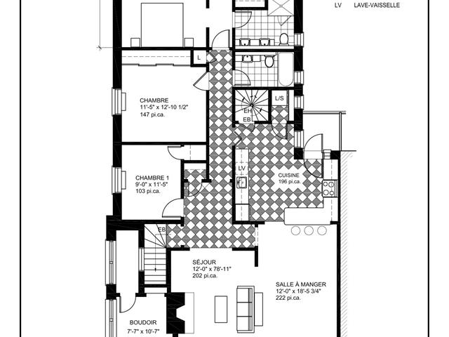 Condo / Apartment for rent in Montréal (Côte-des-Neiges/Notre-Dame-de-Grâce), Montréal (Island), 5637, Avenue de Canterbury, 24549067 - Centris.ca