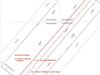 Lot for sale in Saint-Cyrille-de-Wendover, Centre-du-Québec, 3e rg de Simpson, 16093566 - Centris.ca