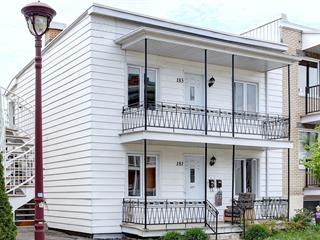 Duplex for sale in Québec (Les Rivières), Capitale-Nationale, 181 - 183, Avenue  Proulx, 17050428 - Centris.ca