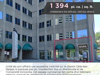 Local commercial à louer à Montréal (Côte-des-Neiges/Notre-Dame-de-Grâce), Montréal (Île), 3550, Chemin de la Côte-des-Neiges, local G90, 12941474 - Centris.ca