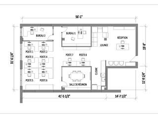 Commercial unit for rent in Montréal (Rosemont/La Petite-Patrie), Montréal (Island), 6560, Avenue de l'Esplanade, suite 105, 16168393 - Centris.ca