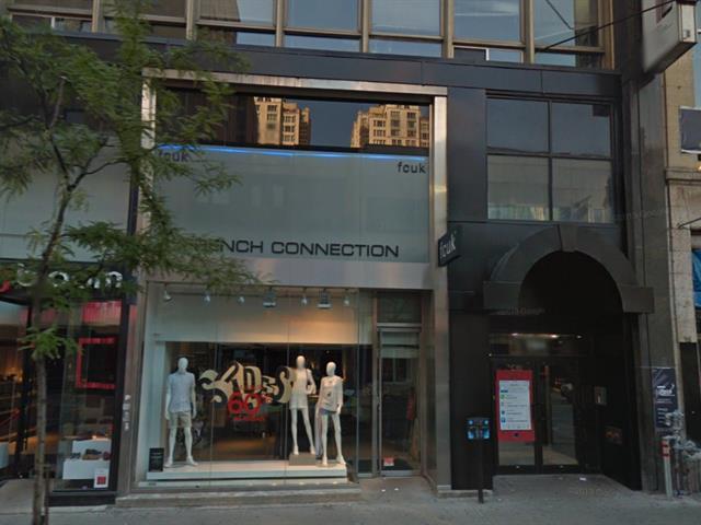 Commercial unit for rent in Montréal (Ville-Marie), Montréal (Island), 1180 - 1182, Rue  Sainte-Catherine Ouest, 19594294 - Centris.ca