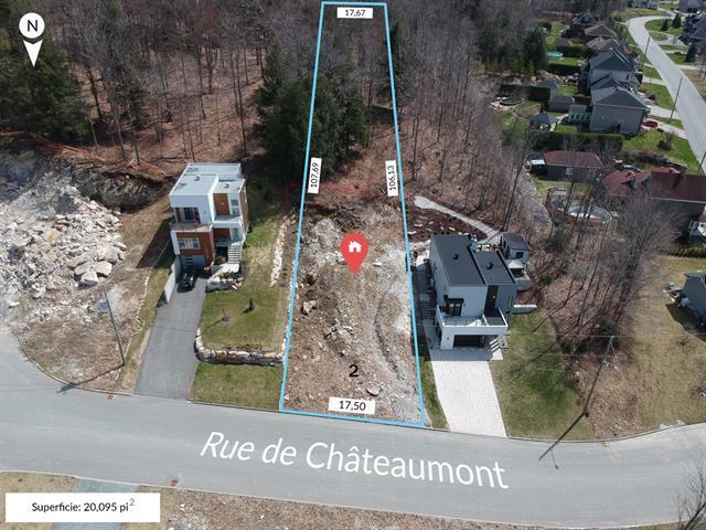 Lot for sale in Sherbrooke (Fleurimont), Estrie, Rue de Châteaumont, 25146678 - Centris.ca
