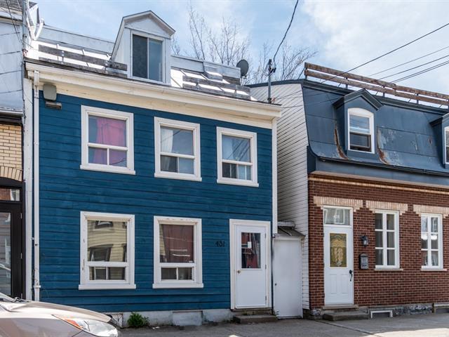 Triplex for sale in Québec (La Cité-Limoilou), Capitale-Nationale, 431, Rue  Boisseau, 25786096 - Centris.ca