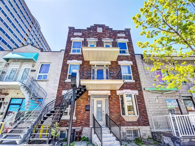 Quintuplex for sale in Montréal (Ahuntsic-Cartierville), Montréal (Island), 8770 - 8772, Rue  Lajeunesse, 9077375 - Centris.ca