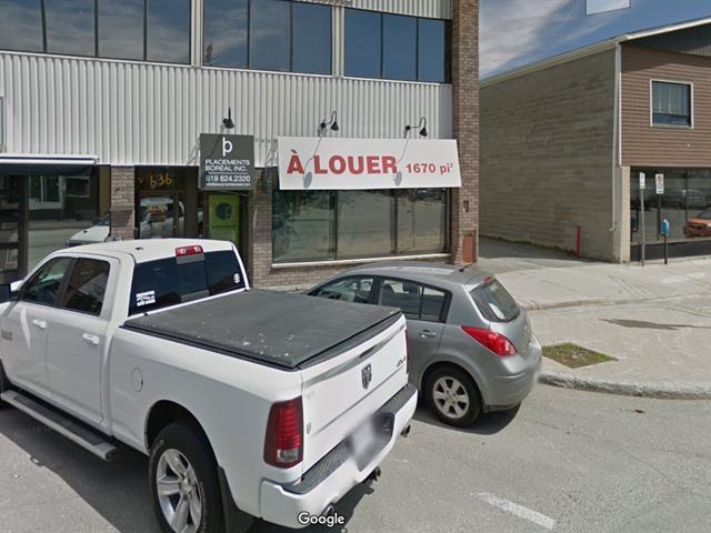 Local commercial à louer à Val-d'Or, Abitibi-Témiscamingue, 632 - 650, 3e Avenue, local 640, 12728236 - Centris.ca