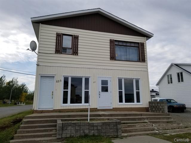 Duplex à vendre à Barraute, Abitibi-Témiscamingue, 521 - 525, 1re Rue Ouest, 14187383 - Centris.ca