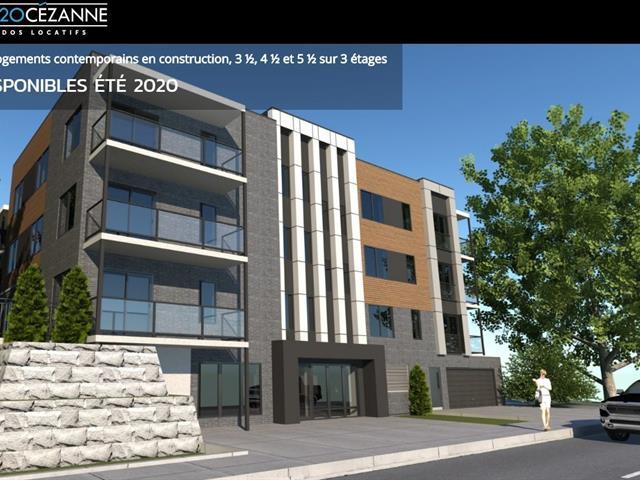 Condo / Appartement à louer à Québec (La Haute-Saint-Charles), Capitale-Nationale, 2320, Rue  Cézanne, app. 212, 28603230 - Centris.ca