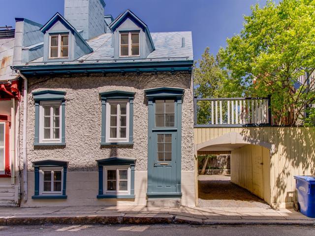 Maison à louer à Québec (La Cité-Limoilou), Capitale-Nationale, 8, Rue  Garneau, 23605572 - Centris.ca