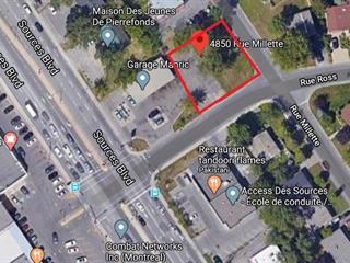 Terrain à vendre à Montréal (Pierrefonds-Roxboro), Montréal (Île), 4850, Rue  Millette, 20009826 - Centris.ca