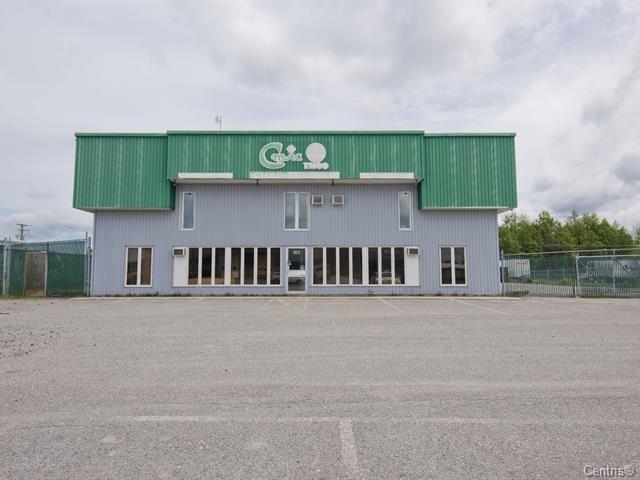 Local commercial à louer à Val-d'Or, Abitibi-Témiscamingue, 185, Rue des Distributeurs, 22333699 - Centris.ca