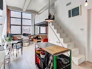 Loft / Studio for rent in Montréal (Le Sud-Ouest), Montréal (Island), 1730, Rue  Saint-Patrick, apt. 622, 22925727 - Centris.ca