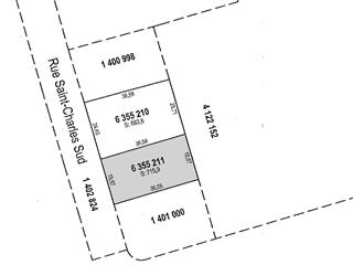 Lot for sale in Granby, Montérégie, Rue  Saint-Charles Sud, 20068375 - Centris.ca